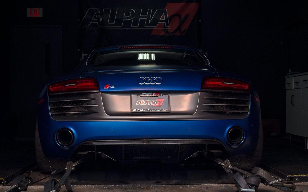 Alpha Performance Audi R8 V10 Twin Turbo