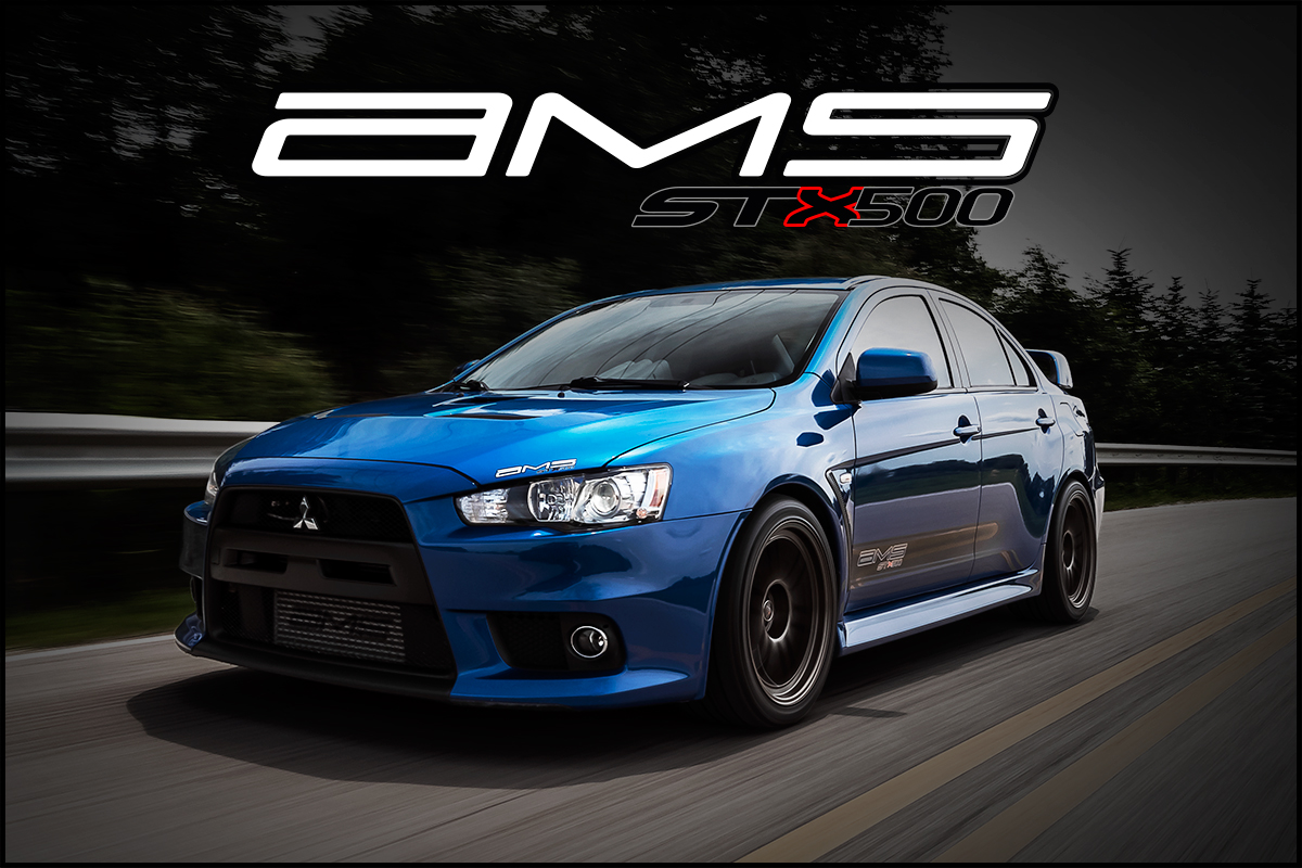 ams mitsubishi lancer evolution x stx500 package. Black Bedroom Furniture Sets. Home Design Ideas