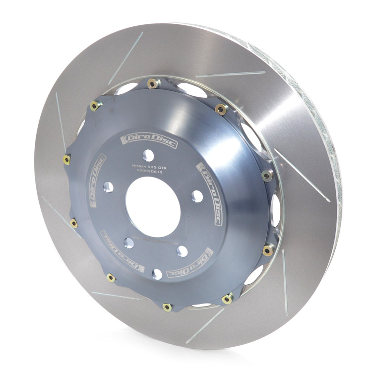 GiroDisc Nissan R35 GT-R 2 Piece 395mm Front Brake Rotors [A1-084]