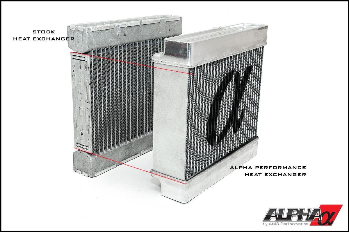 Alpha Performance 45 Series AMG Heat Exchanger Upgrade