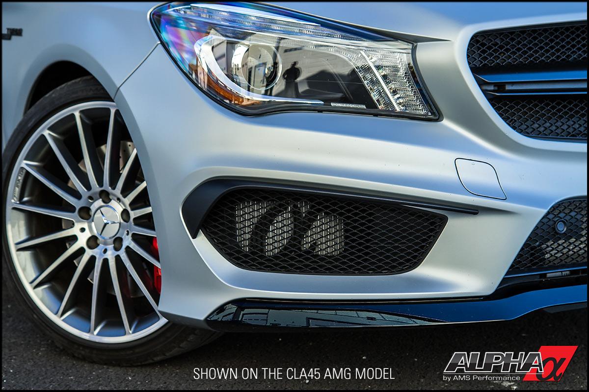 Alpha Performance Mercedes-Benz CLA45 AMG Heat Exchanger Upgrade