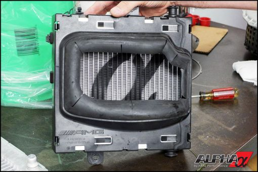 Alpha Performance Mercedes-Benz CLA45 AMG Heat Exchanger Upgrade