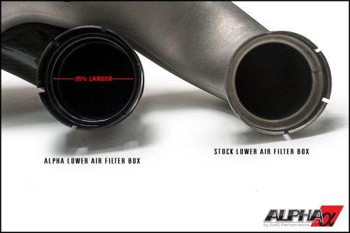 Alpha Performance Mercedes-Benz E550 AMG Carbon Fiber Intake System