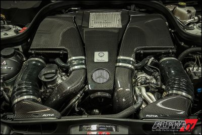 Alpha Performance Mercedes-Benz E550 AMG Carbon Fiber Intake System