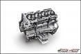 AMS Mitsubishi Lancer Evolution X 4B11 2.2L Stroker Short Block