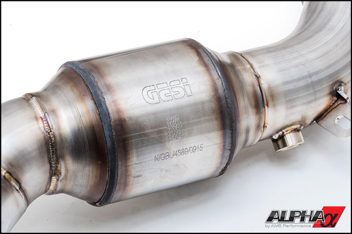 Alpha Performance 2012+ Audi C7 S6/S7 Downpipes