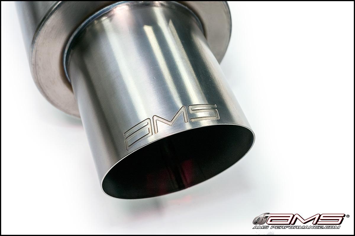 AMS Mitsubishi Lancer Evolution X Titanium Race Series Cat-Back Exhaust System