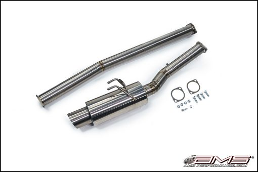 AMS Mitsubishi Lancer Evolution X Titanium Race Series Cat-Back Exhaust System