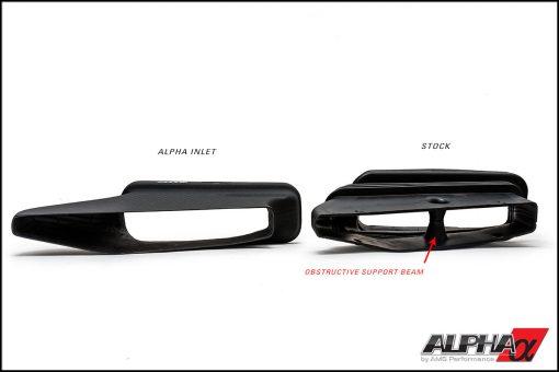 Alpha Mercedes-Benz A45 AMG Carbon Fiber Cold Air Inlet Duct & Air Box Lid