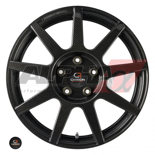 Carbon Revolution CR-9 Nissan R35 GT-R One-Piece Carbon Fiber Wheels