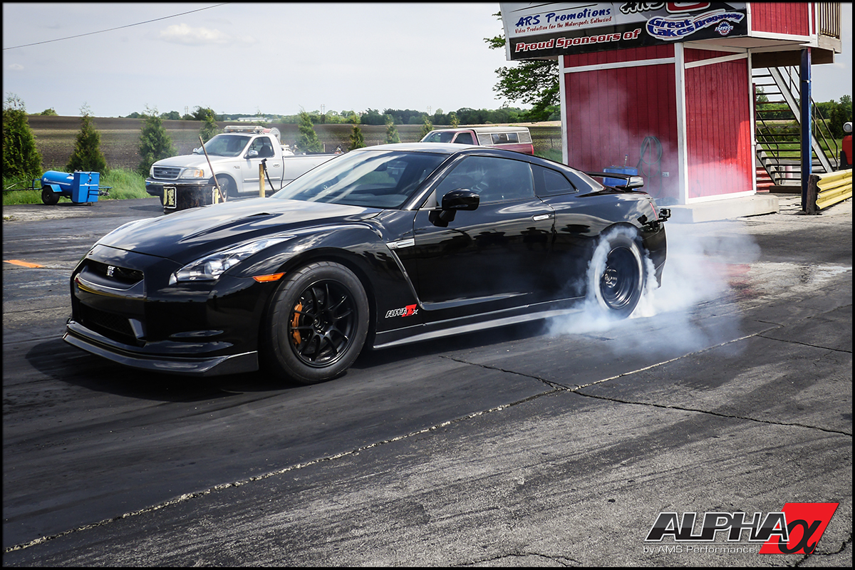 Alpha 12x R35 Gt R Turbo System Blasts Out Low 8 Second Passes