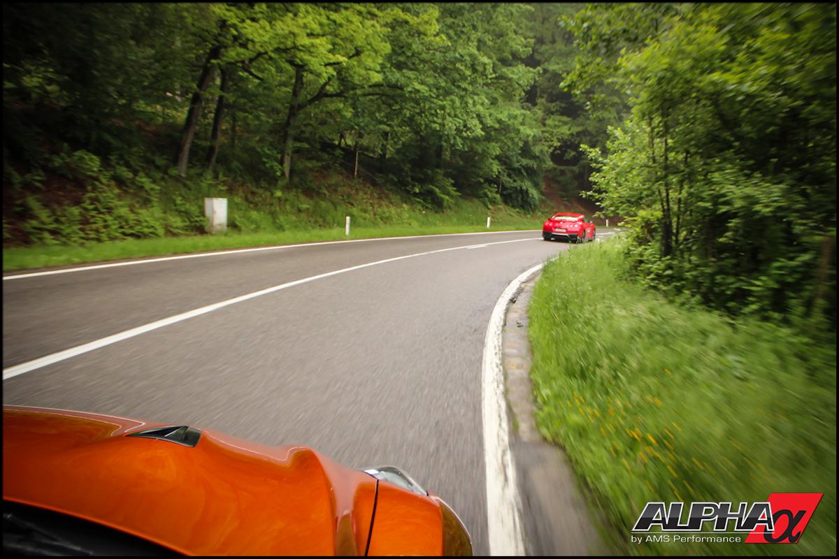 2017 R35 GT-R Belgian backroads