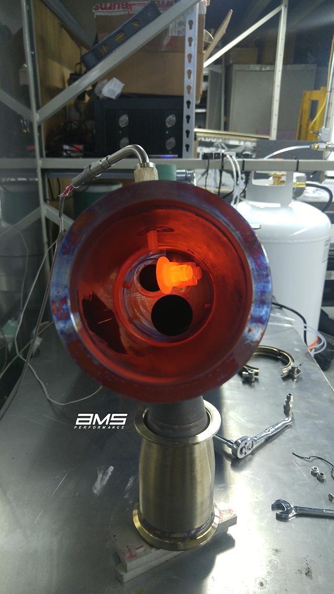 AMS/ALPHA bolt-in turbo upgrade