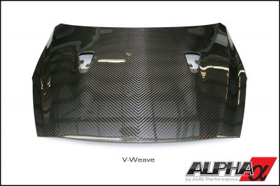 Alpha Performance R35 GT-R Carbon Fiber Hood