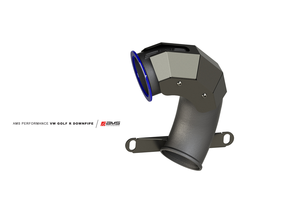 The Upper Downpipe features a V-Band connection and port matched wide mouth opening.
