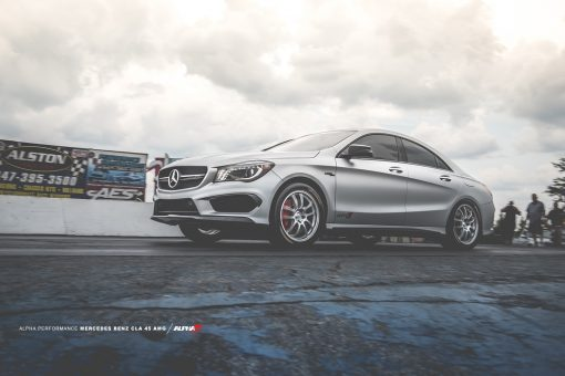 cla 45 tune record downpipe intake fmic turbo