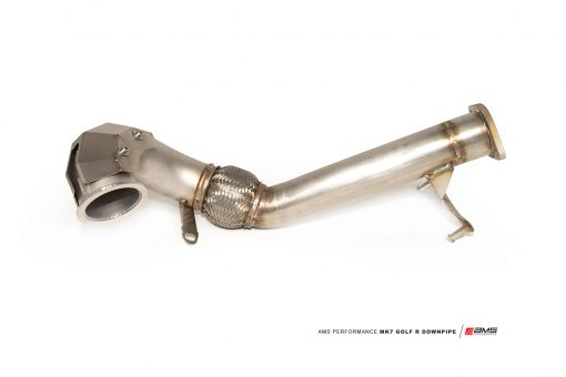 Golf R MK7 - Stainless Steel Downpipe - AMS Performance