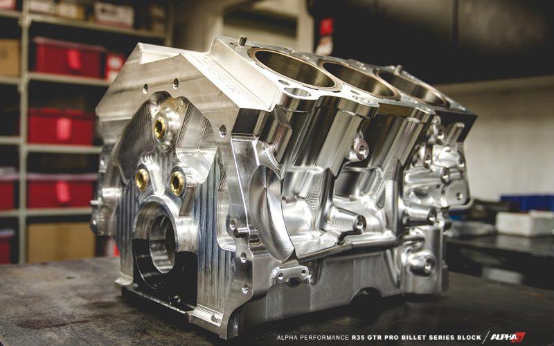 Alpha R35 GT-R VR38 Pro Billet Block