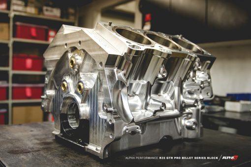 Alpha R35 GTR pro billet block mods upgrade kit