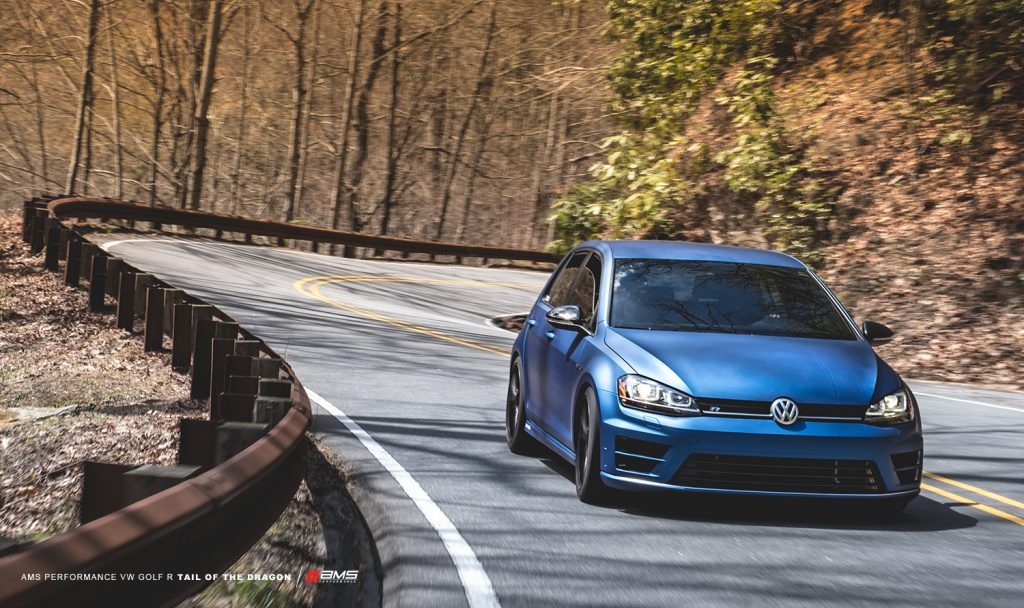 AMS Golf R Downpipe