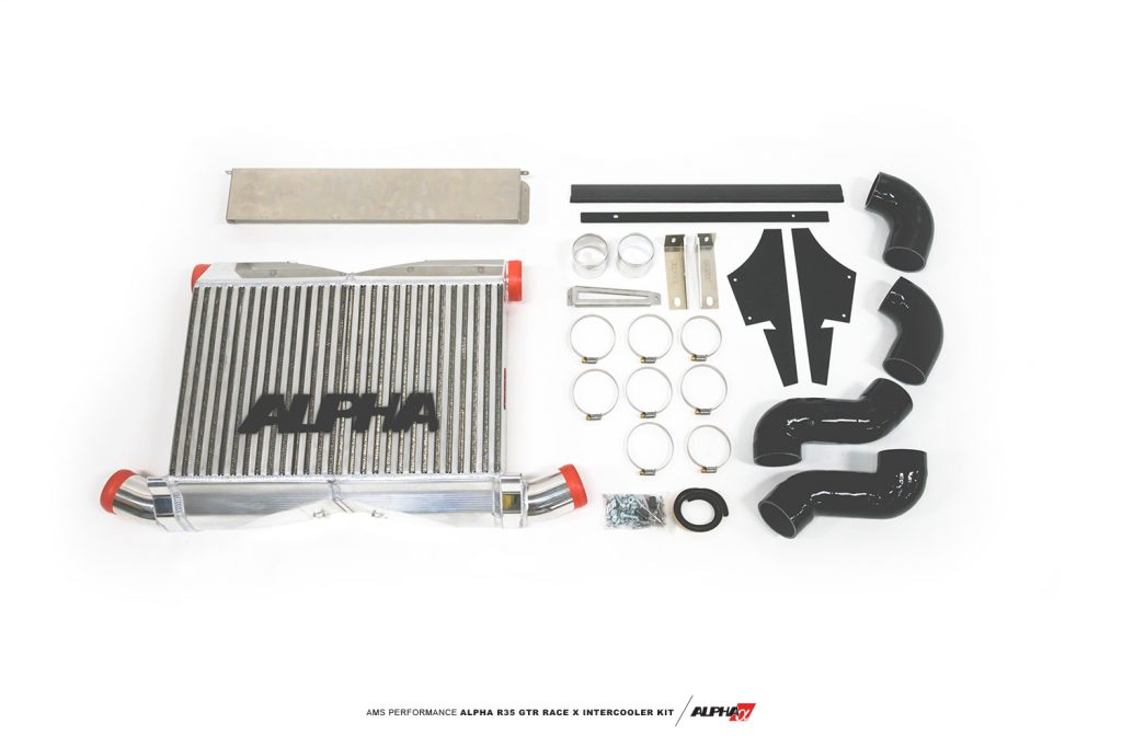 R35 GTR FMIC kit mods upgrade