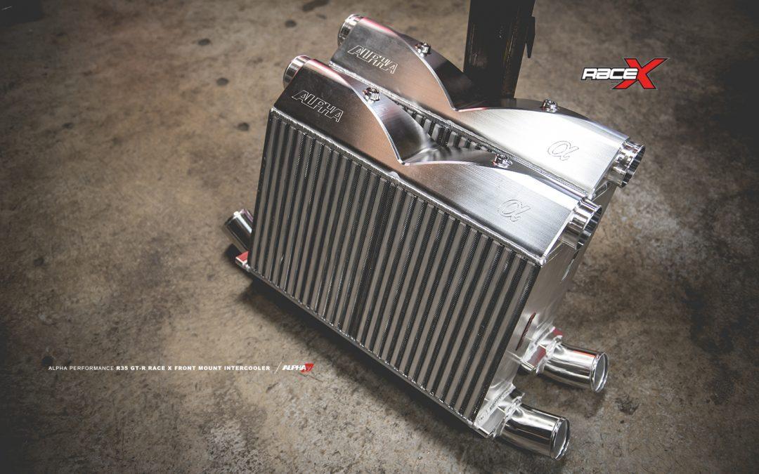 Alpha Performance GT-R RACE X Intercooler