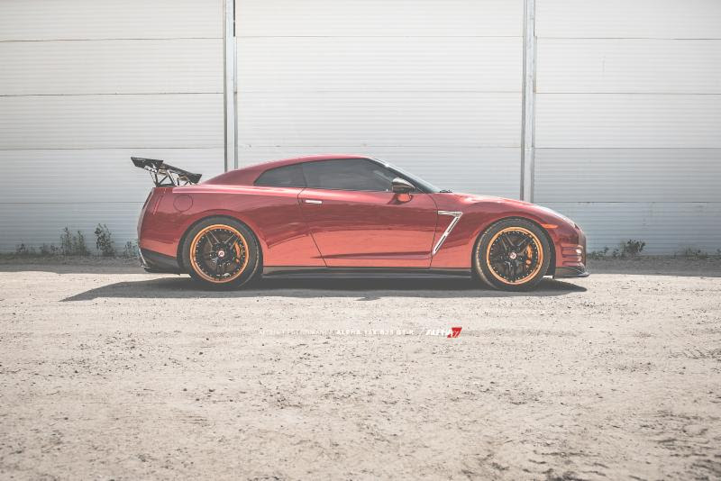 Alpha Performance R35 GT-R Turbo Kit - AMS Performance