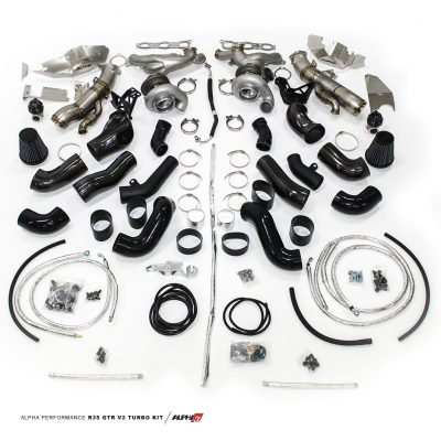 Alpha Performance R35 GT-R Version II Turbo Kit - AMS Performance