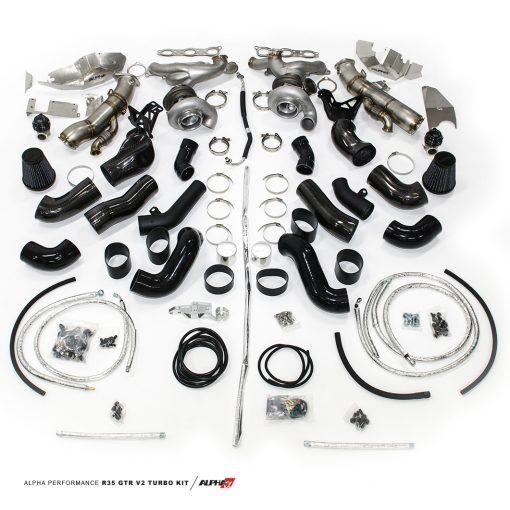 Alpha Performance R35 GT-R Version II Turbo Kit - AMS Performance