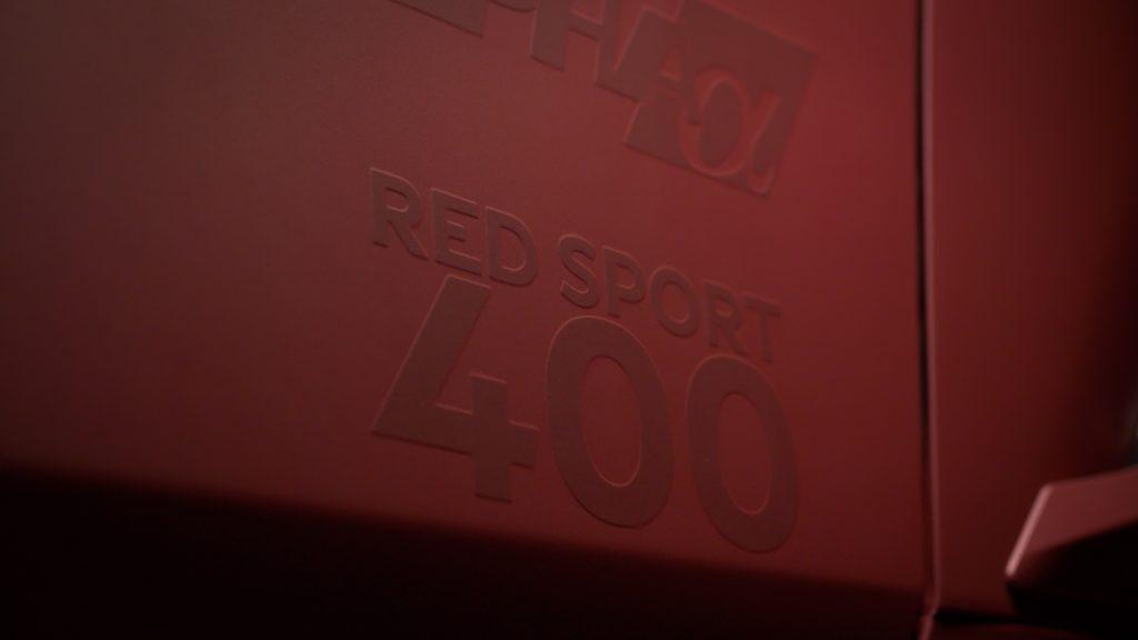 infiniti q60 red sport red alpha performance