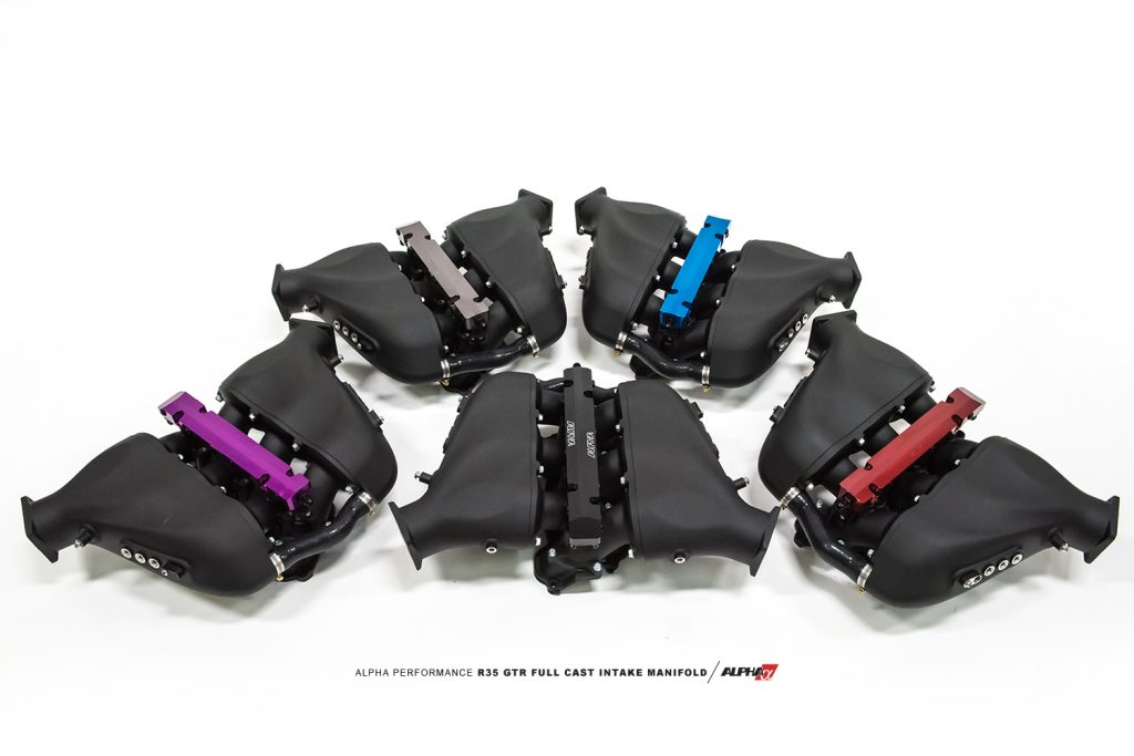 R35 GTR Cast intake manifold mods kit