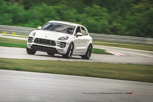 alpha porsche macan intercooler mod upgrde kit