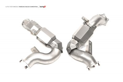 alpha Porsche Macan downpipes mods upgrade kit
