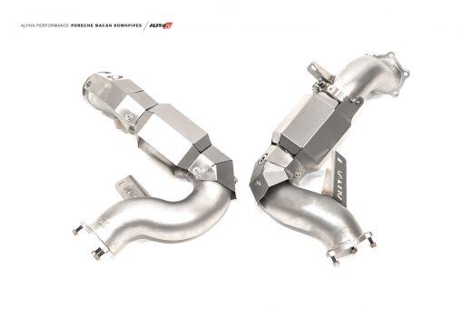 alpha Porsche Macan downpipes mods upgrade kit