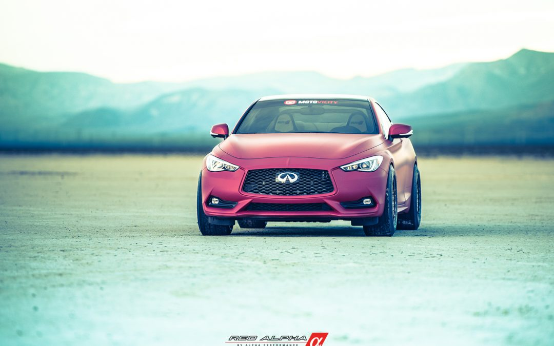 INFINITI & AMS Performance Partner For SEMA 2017