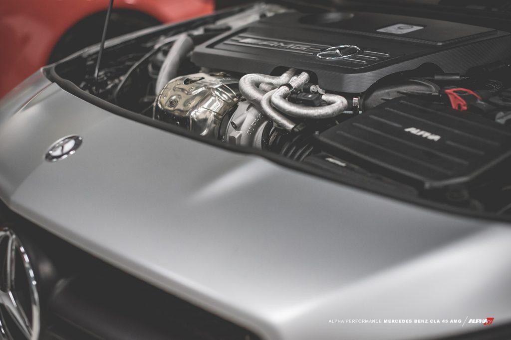 cla 45 amg turbo kit upgrade mod