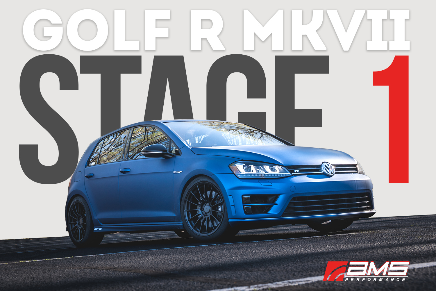 AMS VW MK7 Golf R Stage 1 Package