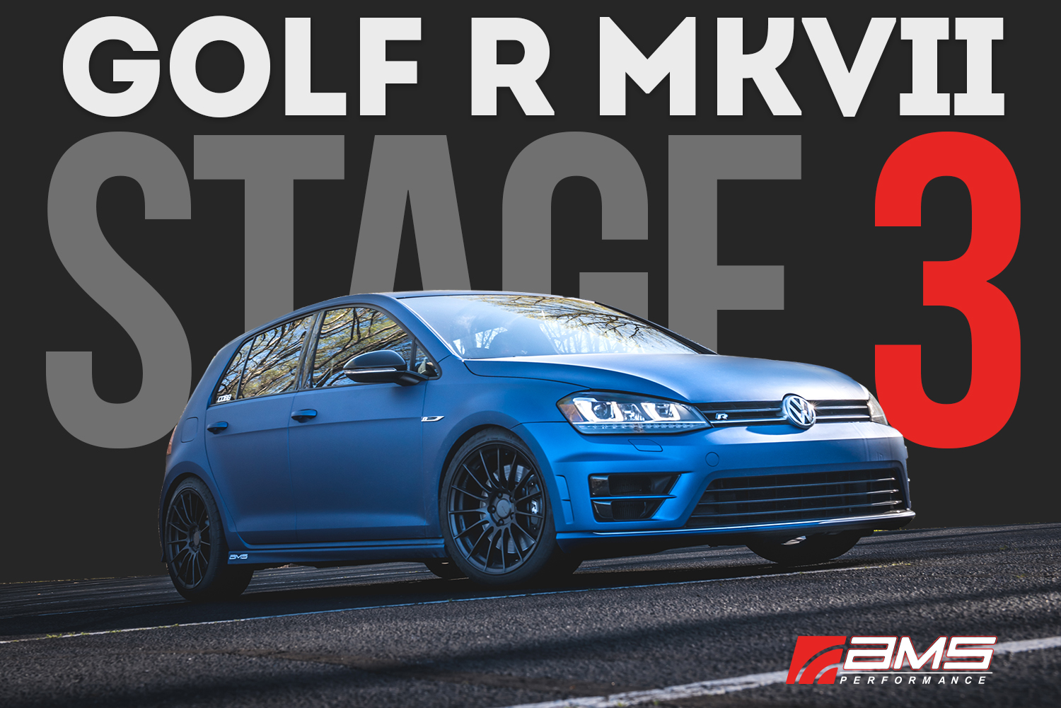 VW Mk7 Golf R Stage 3 Mods Performance Package