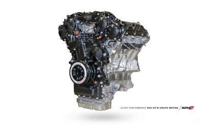 R35 GT-R Engine