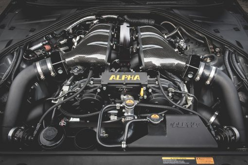 alpha R35 GTR turbo kit upgrade kit