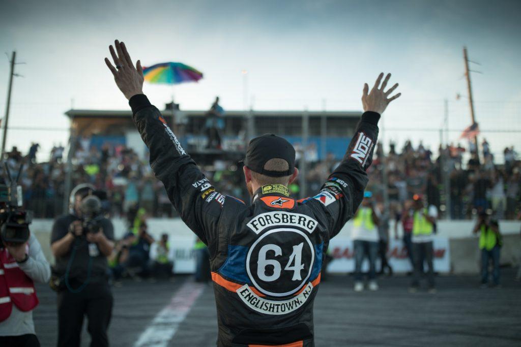 Chris Forsberg AMS turbo drift sponsor