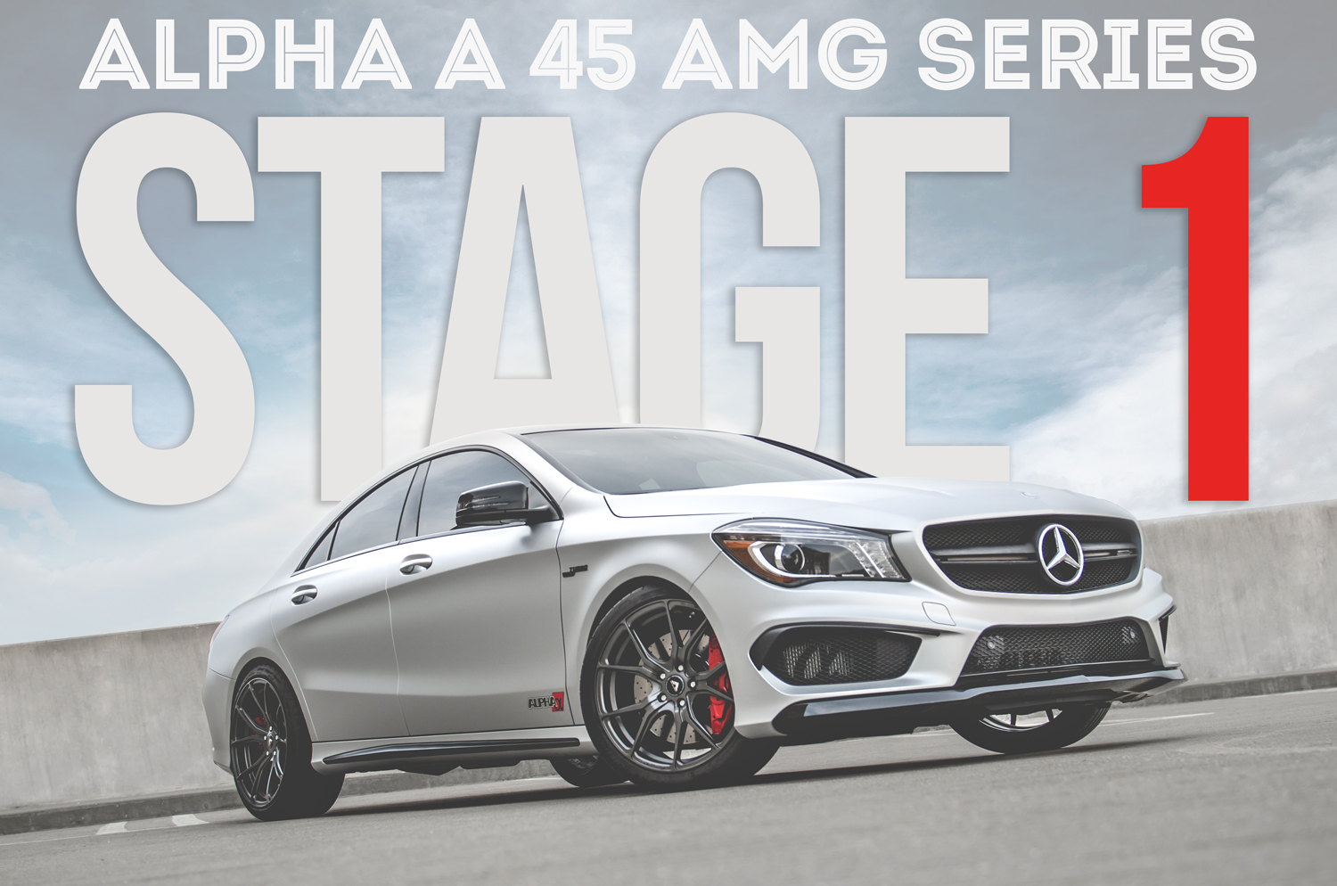Alpha A45 AMG Stage 1 Performance Package