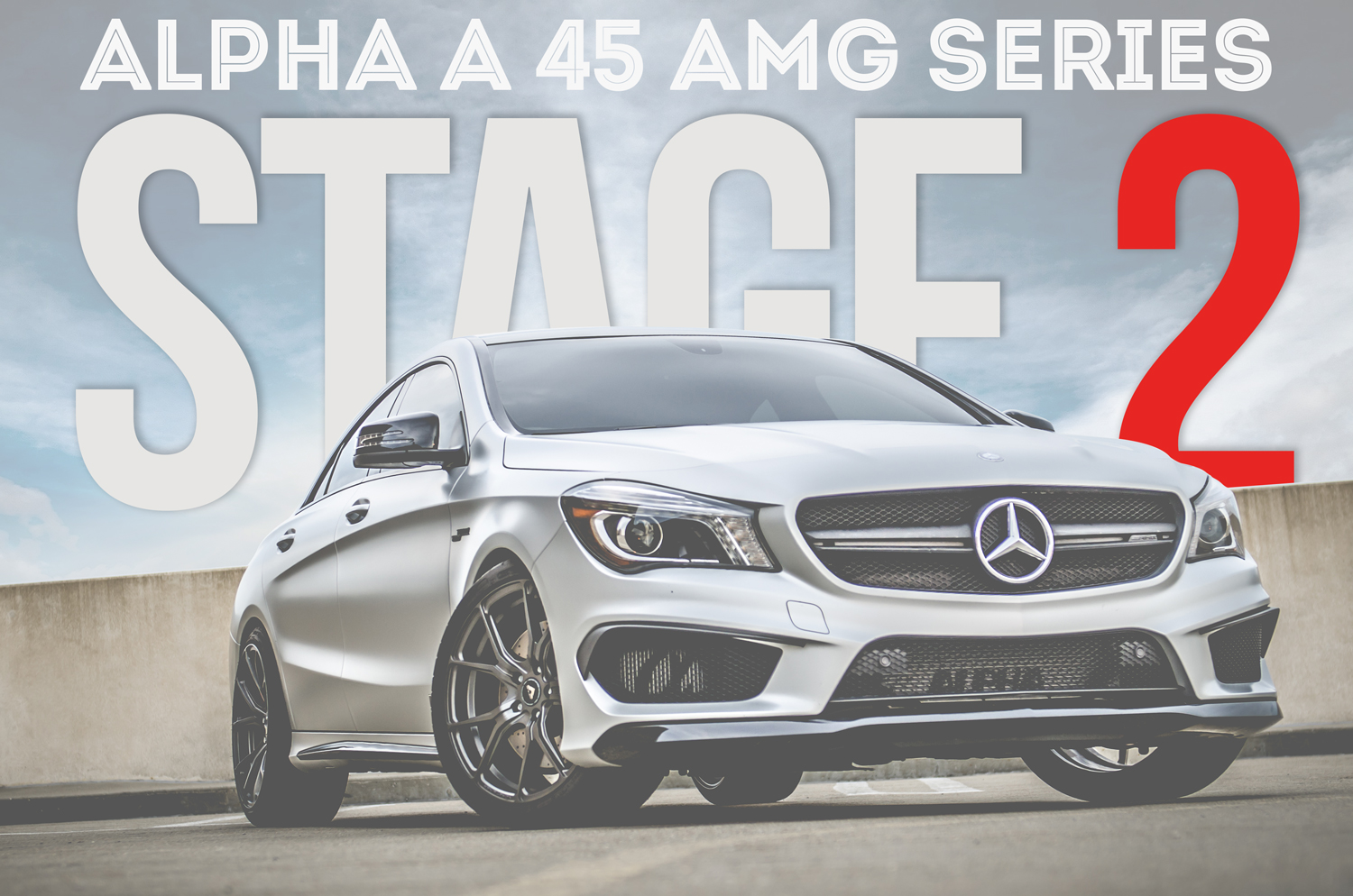 Alpha A45 AMG Stage 2 Performance Package