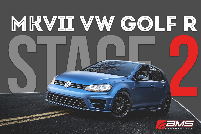 Mk7 Golf R >> Ams Vw Mk7 Golf R Stage 2 Package