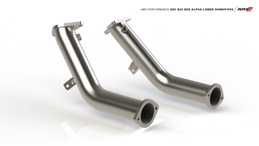 q60 q50 downpipes mods upgrade kit