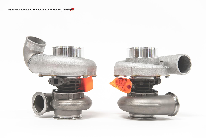 Alpha 16XR R35 GTR Turbo Kit