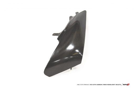 r35 GTR Carbon Fiber Headlight Delete mods upgrade kit