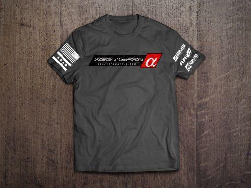 red alpha t shirt mods upgrade kit