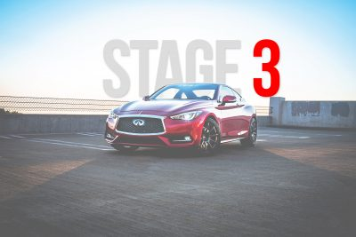 infiniti q50 q60 stage 3 performance package
