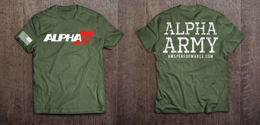 Alpha Army T shirt